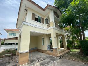 For SaleHouseRama5, Ratchapruek, Bangkruai : Single house for sale, Saransiri Ratchaphruek-Chaengwattana project.