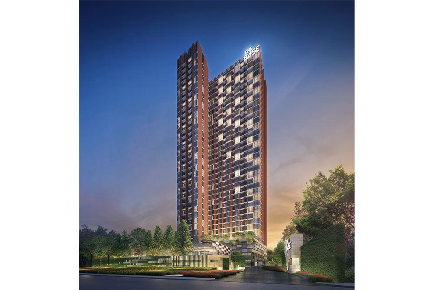 For SaleCondoRama9, RCA, Petchaburi : The BASE Garden Rama 9  1 Bed High Floor Nice View