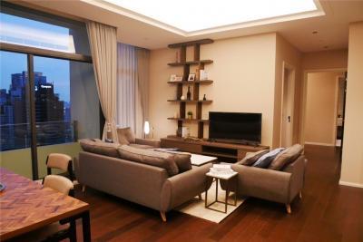 เช่าคอนโดสุขุมวิท อโศก ทองหล่อ : For Rent The diplomat 39 Two Bedroom Modern Unit