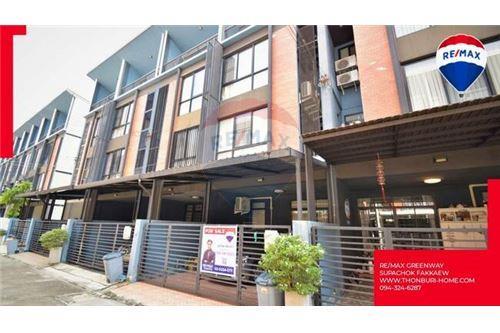 For SaleTownhouseBangbuathong, Sainoi : ทาวน์โฮม 3 ชั้นครึ่ง HAUS 35 แจ้งวัฒนะ