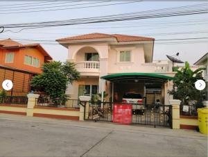 For RentHouseSamrong, Samut Prakan : LBH0156 House for rent in Niran Grand Village. near Huachiew University