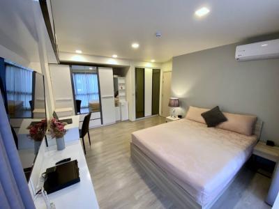 เช่าคอนโดรัชดา ห้วยขวาง : Maestro 03 { For Rent } 2 Bedroom 2 Bathroom 56 Sq.m @@28,000 / Month {Pet Friendly}