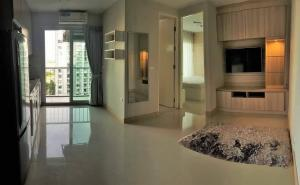 For SaleCondoBangna, Lasalle, Bearing : Hurry up to sell!! Price negotiable, large room, 40 sqm, THE PARKLAND SRINAKARIN, 11th floor, pool view, BTS yellow line, Si Nut