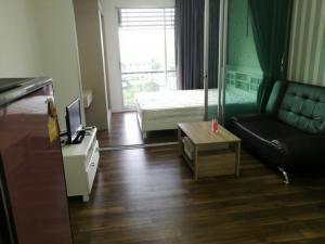 For RentCondoOnnut, Udomsuk : Condo for rent, A Space Me Sukhumvit 77 (7,000 baht/month) 28.5 sq.m., 8th floor, Building A.