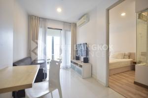 For RentCondoRatchadapisek, Huaikwang, Suttisan : Minimalist Room!! Condo for Rent Near MRT Huai Khwang - Ideo Ratchada-Huaykwang @13,000 Baht/Month