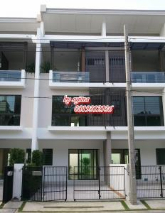 For RentTownhouseNawamin, Ramindra : Townhome for rent, 3 floors, 24 sq.m., near BTS Watcharaphon Station, Ram Inthra Rd.