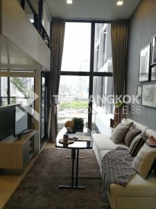 For RentCondoRama9, RCA, Petchaburi : Duplex Best Price!! Condo for Rent Near MRT Phra Ram 9 - Chewathai Residence Asoke @18,000 Baht/month