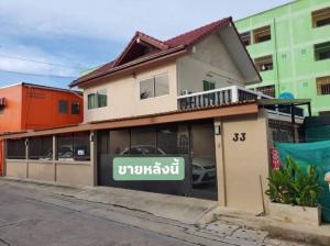 For SaleHouseRama 2, Bang Khun Thian : House for sale, Rama 2, 2 floors, Tha Kham Soi 8