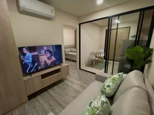 For RentCondoOnnut, Udomsuk : +++ Urgent rent, IKON Sukhumvit 77** 1 bedroom, 1 bathroom, size 29 sq.m., fully furnished +++