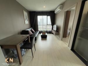 For RentCondoOnnut, Udomsuk : Life Sukhumvit 48 for rent, 2 bedrooms, 1 bathroom, 18th floor, size 49 square meters, fully furnished.