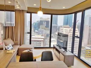 For SaleCondoSiam Paragon ,Chulalongkorn,Samyan : 3562-A😊😍 For RENT&SELL 2 bedrooms for rent and sale🚄 near MRT Sam Yan🏢Ashton Chula-Silom Ashton Chula-Silom 🔔 Area: 57.00 sq m💲 Rent: 45,000฿💲Sale: 14,850,000฿📞 O88-7984117,O65-9423251✅LineID:@sureresidence