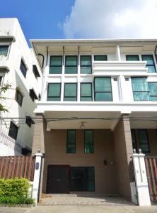 เช่าทาวน์เฮ้าส์/ทาวน์โฮมสาทร นราธิวาส : NA-H6002 ให้เช่าทาวน์โฮมส์ 3 ชั้น บ้านใหม่ นราธิวาสซอย 10