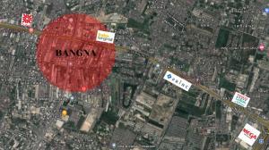For SaleLandBangna, Bearing, Lasalle : Land for sale, size 5 rai, next to Bangna-Trad Road.