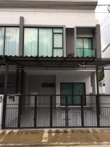 เช่าทาวน์เฮ้าส์/ทาวน์โฮมนวมินทร์ รามอินทรา : BH1017 ให้เช่าบ้านทาวน์โฮม2ชั้น 3ห้องนอน 2ห้องน้ำ หมู่บ้านเดอะริคโค้ ซอยสายไหม35 ใกล้ BTS คูคต เขตสายไหม