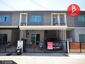 For SaleTownhouseSamrong, Samut Prakan : 2 storey townhouse for sale, Pruksa 136, Phraeksa-Sukhumvit, Samut Prakan.