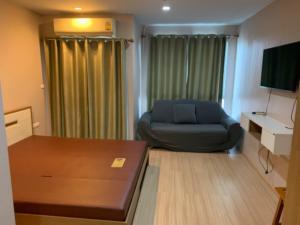 For RentCondoThaphra, Wutthakat : Condo, 5th floor, price 8,500 baht, walk 10 meters, take the train.