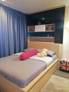For SaleCondoOnnut, Udomsuk : Ideo Sukhumvit 93 1 bedroom for sale, high floor, good location, beautiful view.