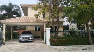 For RentHousePattanakan, Srinakarin : Code C4168, 2 storey detached house for rent, Supalai Suan Luang Village, Chaloem Phrakiat Road fully furnished