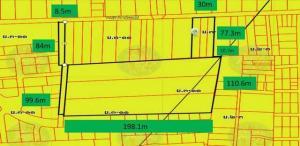 ขายที่ดินนวมินทร์ รามอินทรา : BL033 ขายที่ดิน ย่านสายไหม 14ไร่ ตรงข้ามทางลงมอเตอร์เวย์ฉลองรัตน์ ในซอย 500เมตร จากถนนสุขขาภิบาล5