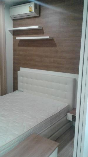 For RentCondoRattanathibet, Sanambinna : Condo for rent, The Hotheva Rattanathibet, 1 bedroom, 29 sqm, floor 14/7,500 baht.