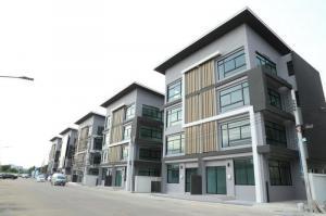 เช่าตึกแถว อาคารพาณิชย์ลาดกระบัง สุวรรณภูมิ : BH1021 ให้เช่า-ขายโฮมออฟฟิศ 4ชั้น 1ห้องนอน 4ห้องน้ำ โครงการฟิฟธ์ เอเวนิว ลาดกระบัง ใกล้นิคมลาดกระบัง จดทะเบียนบริษัทได้