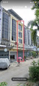 เช่าตึกแถว อาคารพาณิชย์ลาดพร้าว71 โชคชัย4 : ให้เช่า อาคารพาณิชย์ 5 ชั้น (นับชั้นลอยเป็นชั้น 2) พร้อมเข้าอยู่