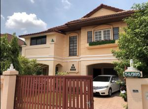 For RentHouseChengwatana, Muangthong : House for rent, 80 straight. Ready to move in. Walk to Central Chaengwattana, price 25,000 baht, call 0917895968