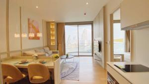 """เช่าคอนโดวงเวียนใหญ่ เจริญนคร : 🚨 MAGNOLIA WATERFRONT  RESIDENCES 🚨 """"Hot deal !!! """" 1 bed 1 bath 60.58   sq.m. Floor 11  : Price 60K. #PW14"""