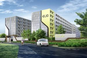 For RentCondoOnnut, Udomsuk : Elio Sukhumvit 64, ready to move in, 31 sqm, starting price 11500 baht Line ID : @likebkk (with @ too)