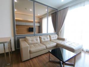 For RentCondoRama9, RCA, Petchaburi : Nice room for rent Supalai Light Sathorn-Charoenrat.