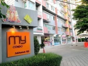 For RentCondoOnnut, Udomsuk : My Condo Sukhumvit 103 near BTS Udom Suk, ready to move in, 52 sqm, room available Line ID: @home999 (with @ too) Send Line to inquire.