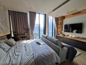 ขายคอนโดวิทยุ ชิดลม หลังสวน : ขาย 1 ห้องนอน แต่งสวยมาก วิวสวยที่สุดในโครงการ ชั้นสูง Noble Ploenchit สนใจนัดชมโครงการ โทร. 062-339-3663
