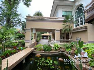For SaleHouseVipawadee, Don Mueang, Lak Si : 7 bedroom detached house for sale in Ladawan Prachachuen Village, Thung Song Hong Subdistrict, Lak Si District, Bangkok.