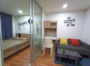For RentCondoSamrong, Samut Prakan : For rent, Lumpini Ville, Sukhumvit 76, near bts bearing, fully furnished, ready to move in.