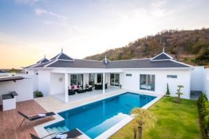 For SaleHouseHua Hin, Prachuap Khiri Khan, Pran Buri : Brand New Pool Villa SH90147