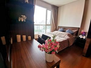 For RentCondoSukhumvit, Asoke, Thonglor : Condo Ivy Thonglor @BTS Thonglor, Size 35.6 sq.m Studio 9th floor Clear View, Fully furnished