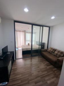 For RentCondoRamkhamhaeng, Hua Mak : Condo for rent, Living Nest, Ramkhamhaeng, rent 6,500 baht, near The Mall Bangkapi. Easy access to the pier