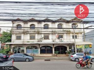 For SaleShophouseKorat KhaoYai Pak Chong : Commercial building for sale, area 80.0 square wa, Dan Kwian, Nakhon Ratchasima.