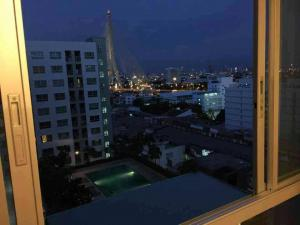 For RentCondoRama 8, Samsen, Ratchawat : For rent Lumpini Place Rama 8 🌟 View of the Chao Phraya River, Rama 8 Bridge 🌟 Fully furnished + fully furnished.