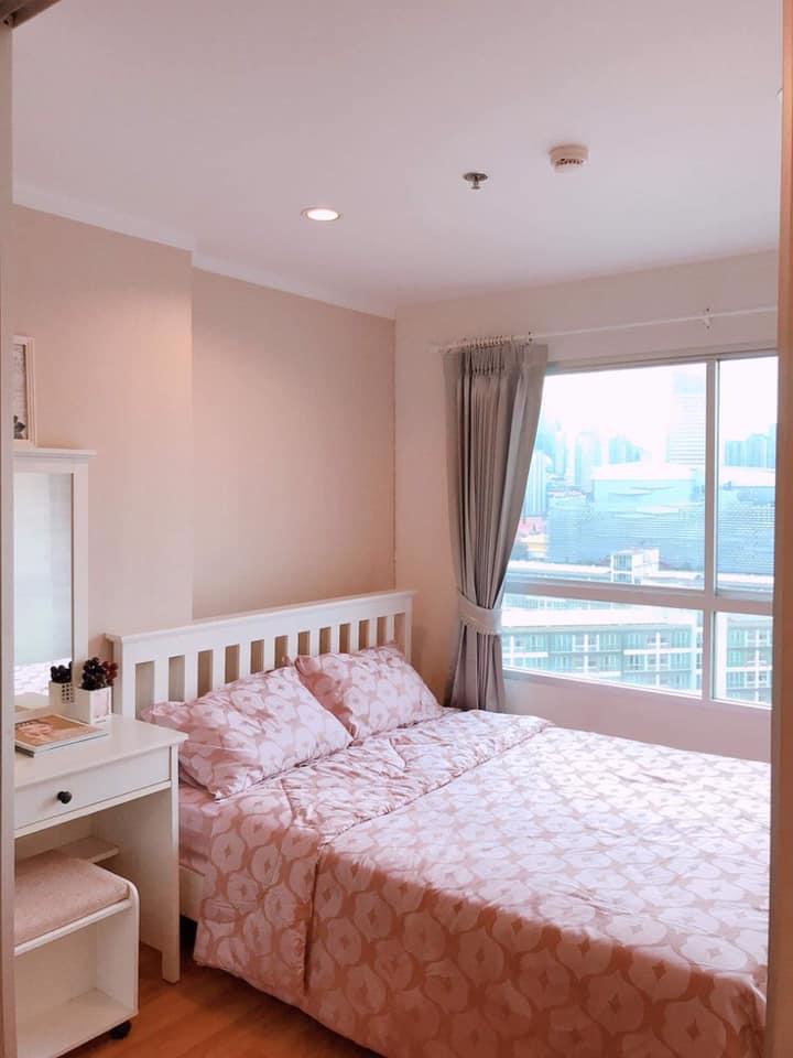 For SaleCondoRama9, RCA, Petchaburi : SK03149 Urgent sale, Lumpini Park Rama 9 - Ratchada, size 26 sqm., 14th floor **MRT Rama 9**