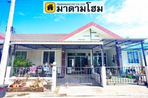 For SaleTownhouseAyutthaya : Madame Home House for sale in Ayutthaya City Home 2 Village, Ayutthaya, Narawadee, Ayutthaya Second hand houses in Ayutthaya 2nd hand house in Ayutthaya