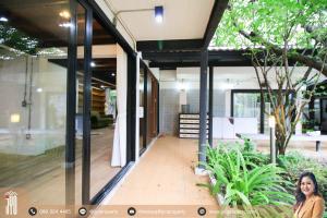 For RentHouseOnnut, Udomsuk : JY-R00097-For rent Single house 2 storey Sukhumvit soi 85 104 sq.wa.450sq.m. 3bedrooms 3bathrooms 3 parking near BTS Onnut