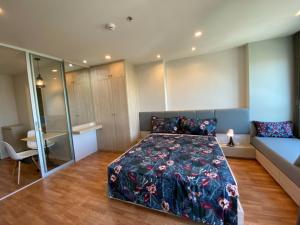 For RentCondoPattanakan, Srinakarin : ✅ For rent, Lumpini Ville Phatthanakan - Srinakarin, size 26.50 sq.m., fully furnished and electrical appliances ✅
