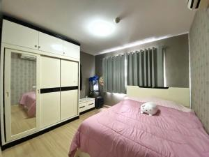 For SaleCondoNawamin, Ramindra : Cheapest in the project! Smart Condo Watcharaphon, high floor, want to sell urgently.