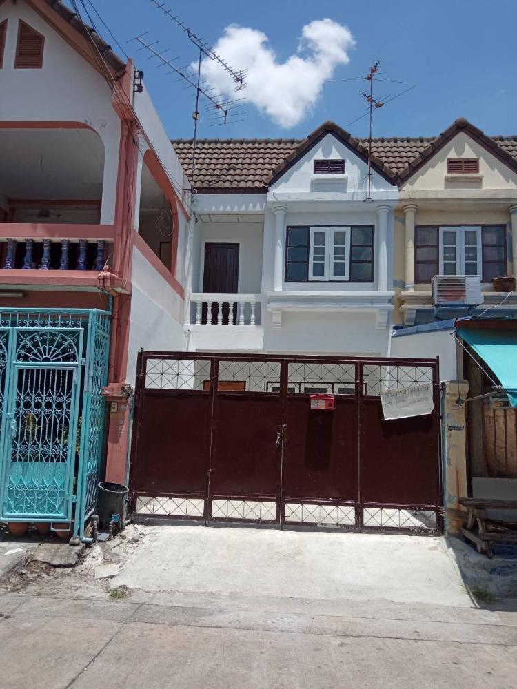 For SaleTownhouseRama 2, Bang Khun Thian : Townhouse for sale, 2 floors, 16.5 sq m, Rama 2 Soi 76, 2 bedrooms, 2 bathrooms, near Kanchanaburi ring road. Renovated