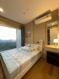 For RentCondoLadprao, Central Ladprao : 📢New condo for rent, The Saint Residences 🏢 near BTS Lad Phrao Intersection 🚊 Chatuchak garden view, beautiful room, ready to move in, 31 sq.m., only 14,000฿/month 🤩