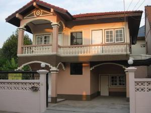 For SaleHouseVipawadee, Don Mueang, Lak Si : 2 storey detached house for sale, Burapha Villa Village 12, Soi Weluwanaram 16 Temple.