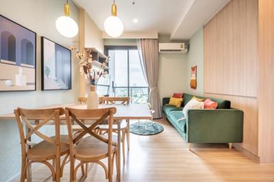 เช่าคอนโดสะพานควาย จตุจักร : 🔥🔥🔥For Rent M Jatujak🏬🏢 2 ห้องนอน 2 ห้องน้ำ 53 ตร.ม แต่งสวย✨ แต่งครบ‼️ @ JST Property.