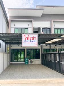 For RentTownhouseChiang Mai : Townhome for rent , Canal Road, Suthep-Mae Hia Market, Chiang Mai