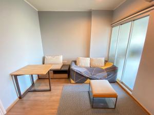 For RentCondoRamkhamhaeng, Hua Mak : For Rent U Delight @ Hua Mak, 30 sqm, 12th floor, fully furnished, electricity 11,000 baht